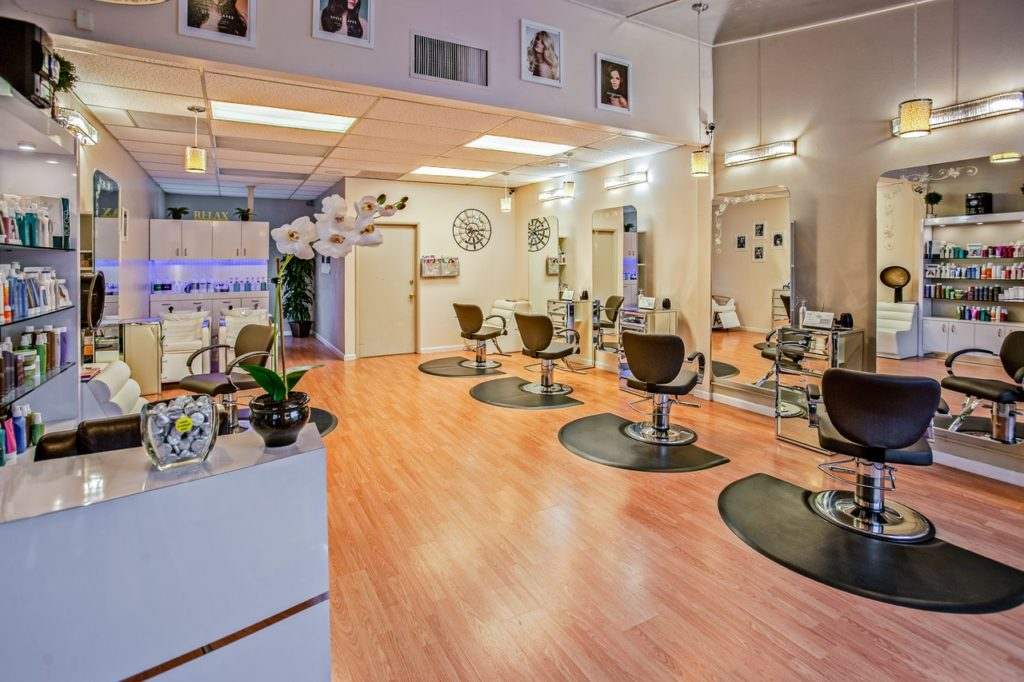 professional high end salon
