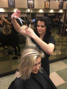 Sydney R. Douglas J Cutting Hair