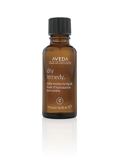 bottle of aveda Dry Remedy Daily Moisturizing Oil.