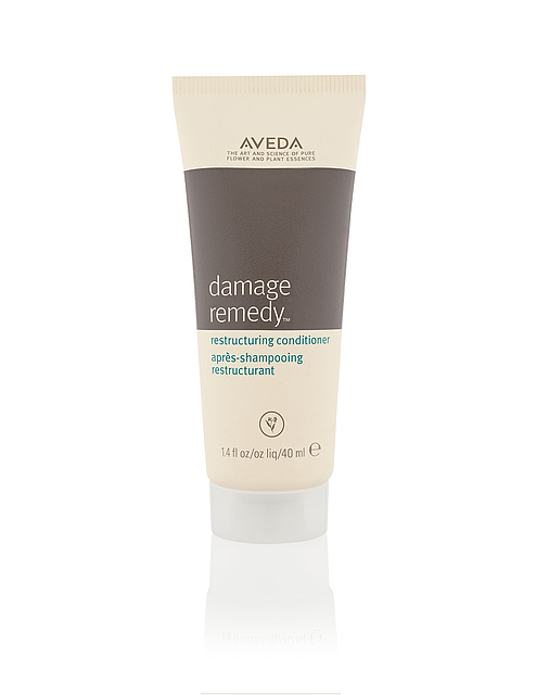 bottle of aveda Damage Remedy conditioner.