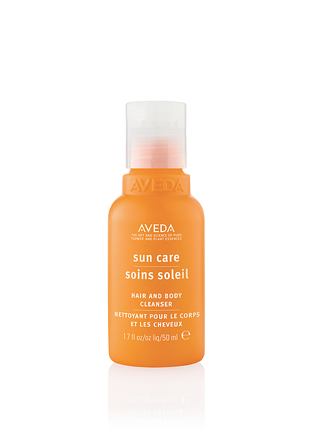 bottle of aveda Sun Care protective veil.